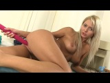 Grace Hartley (Pinky June) - Ridged Dildo - Nubiles.net